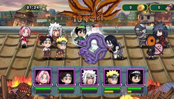 game naruto đại chiến lậu