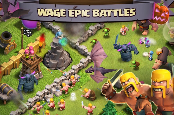 game Clash of clans apk