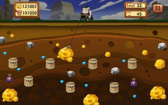 trò chơi đào vàng