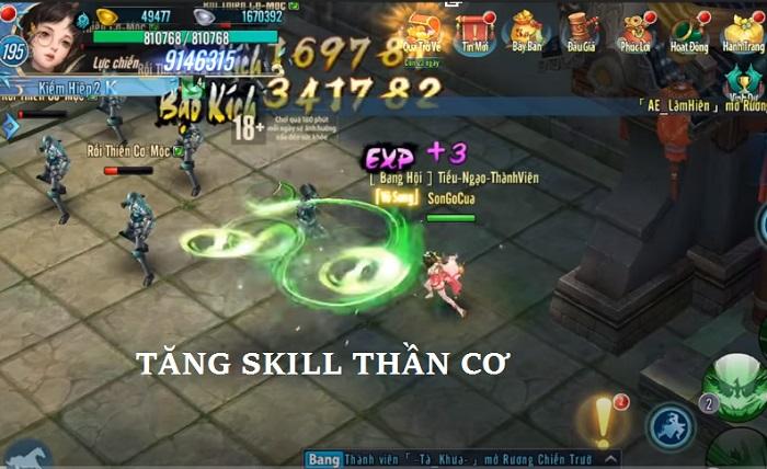các tăng skill thần cơ gameprivate4u.com