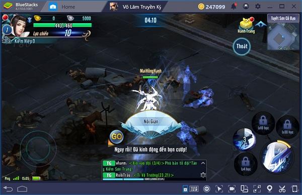 game vltk mobile trên pc